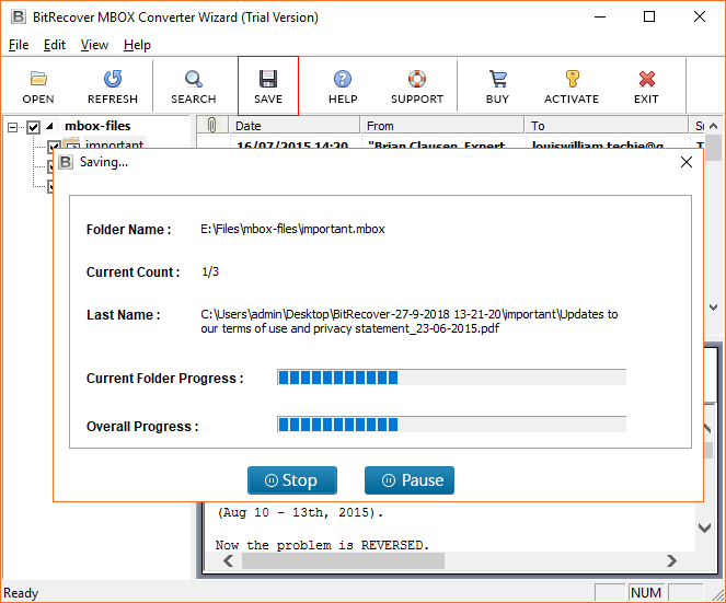 MBOX to PDF Converter to Export MBOX File to PDF with Attachments