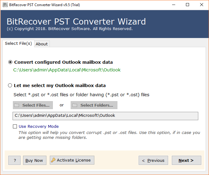Outlook PST to HTML Converter