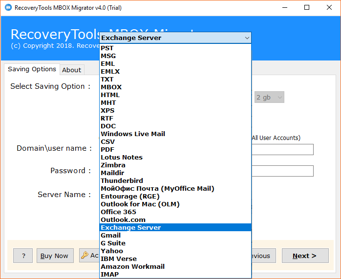Import MBOX to Exchange Server Directly – Get Trustworthy