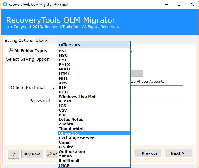 Migrate OLM to Office 365 Straightforwardly with Emails and