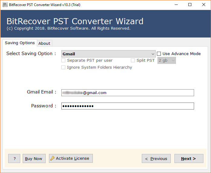 PST to Gmail Converter to Migrate Outlook to Gmail Free ...
