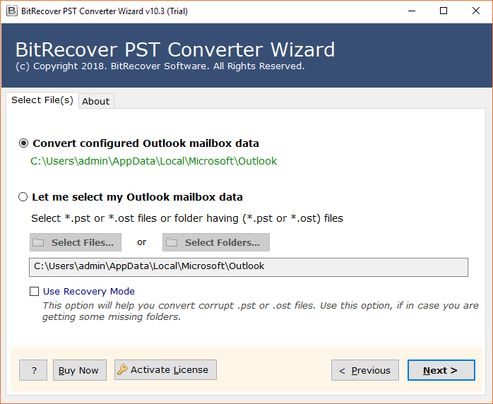 Import Outlook PST to Outlook com Directly with Emails