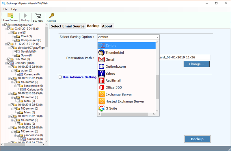 Migrate Exchange to Zimbra Open Source Email Client and