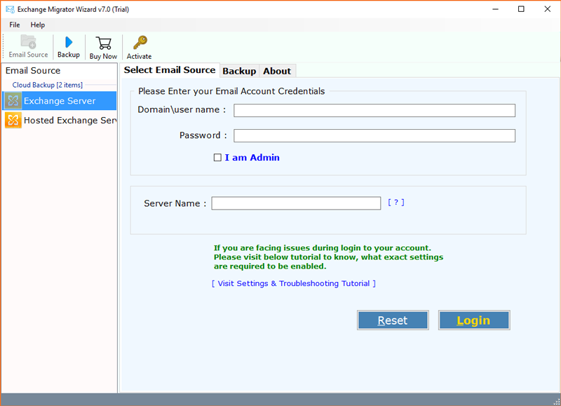Convert Exchange to PST – Add Exchange Server to Outlook 2016