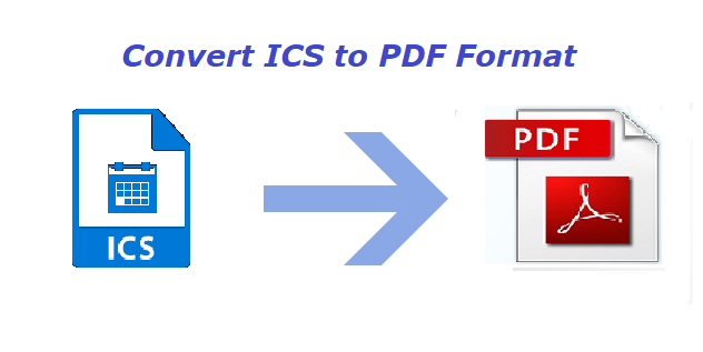 ICS to PDF Converter Tool to Print / Save iCalendar Files to