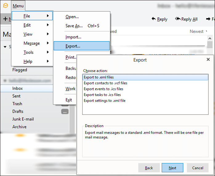 eM Client to Mac Mail Converter to Migrate eM Client to