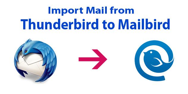 Thunderbird to Mailbird Converter