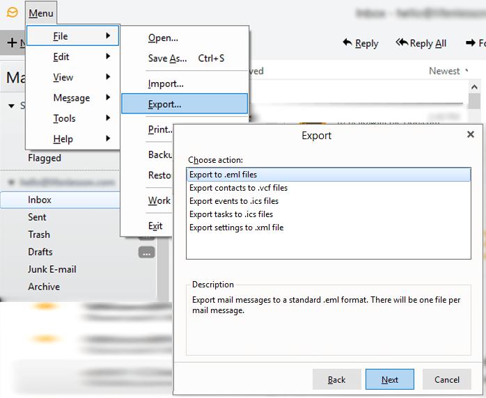 eM Client to PDF Converter to Export eM Client Emails into