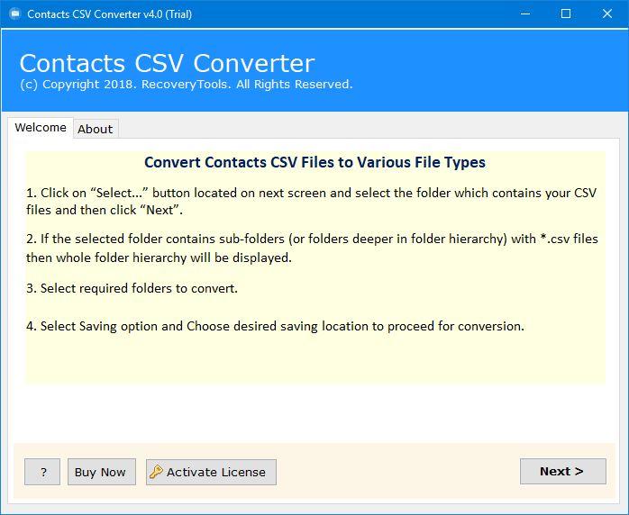 csv file converter
