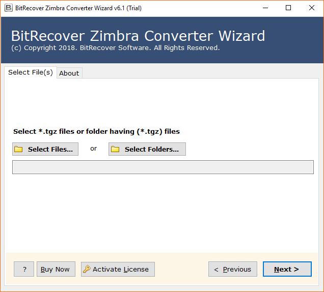 Zimbra Email Server Migration Software to Convert Zimbra TGZ Files